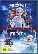 Frozen 2 Movie Collection R4 DVD Frozen & Frozen II