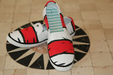 Hand Painted Dr. Seuss, Cat in the Hat, sneakers, shoes, woman's size 7