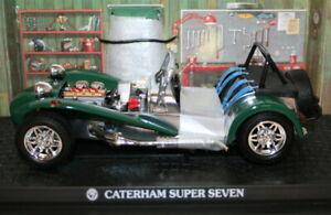 Kyosho 1/18 Scale Diecast - 7020G - Caterham Super Seven - Green