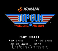 Top Gun 2 - The Second Mission - NES Nintendo Game