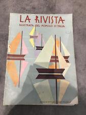 LA RIVISTA ILLUSTRATA DEL POPOLO D'ITALIA N° 7 LUGLIO 1929