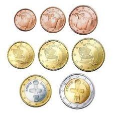 Cyprus UNC set 2010 - 1 cent t/m 2 euro Zypern kms