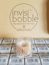 New Nude Invisibobble Invisi Bobble The Traceless Hair Ring Original *3 Pack*