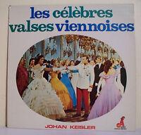 """33T Johan KEISLER Disque LP 12"""" CELEBRES VALSES VIENNOISES Classique AF 20805"""