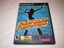 Karaoke Revolution (Playstation PS2) Konami Original Complete LN Perfect Mint!
