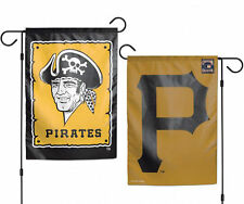 "Pittsburgh Pirates MLB Garden Flag Double Sided Licensed 12.5"" x 18"""