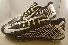 Nike Vapor Carbon Elite 2014 TD Football Cleats Men's Size 16 Black White