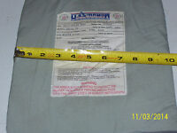 "BULLETPROOF Block Spall 1Trauma Plate Level IIIA 10""X12"" Body Armor Vest Kevlar"