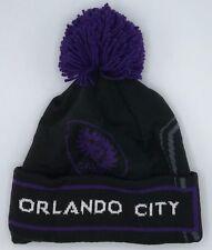 Mls Orlando City Sc Adidas con Risvolto Pon Knit Cappello Berretto Cuffia  Stile ff5975133786