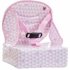 Baby-To-Love Easy Up, Portable High-Chair Girl Space Saver Feeding Booster Seat