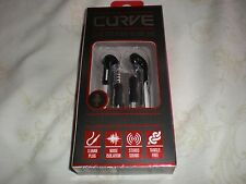 SENTRY CURVE STEREO EAR BUDS NOISE INSOLATION IN LINE MIC