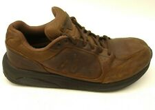New Balance Mens 928 Brown Leather Health Walking Shoes US 10.5 EU 44.5 Wide