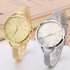 Fashion New Classic Women Quartz Stainless Steel Analog Wrist Watch Bracelet