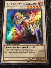 Yugioh(2X) ALLY OF JUSTICE CATASTOR ( CT10-EN006)-ULTRA RARE MINT/NM**FREE SHIP*