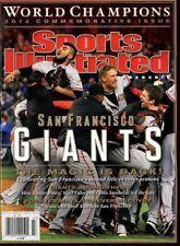 Sports Illustrated Magazine Commemorative 2012 Champions SAN FRANCISCO GIANTS