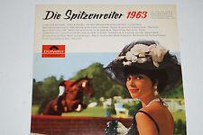 DIE SPITZENREITER 1963  - (Connie Francis, Bianca Holl, Peter Kraus...) LP