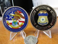 Federal Air Marshal Service Office Law Enforcement TSA FAMS Challenge Coin