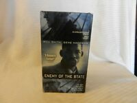 Enemy of the State (VHS, 1999) Will Smith, Gene Hackman