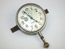 Waltham 8-Day Automobile Clock with Up/Down Indicator & Bracket. 93T