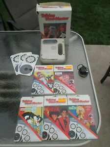 Talking View-Master Electronic 3-D Viewer Michael Jackson Thriller + 5 more sets