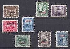 SOMALIA 1934 ONORANZE DUCA 8 VAL. SS. 185 - 192  NUOVA MLH LINGUELLA INVISIBILE