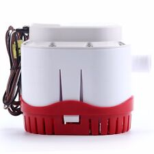 12v 2000gph Automatic Submersible Boat Bilge Water Pump  Built-in Float Switch