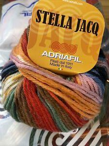 Stella Jacq Aran Yarn By Adriafil 10x 50g Ball (081)