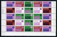 Australien 25er Bogenteil UR MiNr. 479-85 postfrisch MNH Weihnachten (GF15849