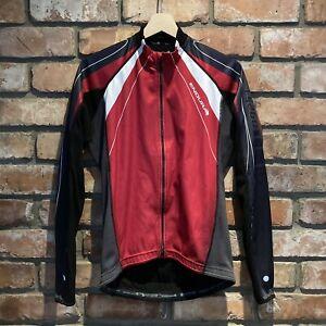 Endura FS260 full-zip cycling jacket size S