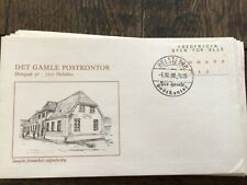 stamps Denmark 🇩🇰 FDC 1990 Fredericia The Town for Everybody #993