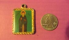 Vintage Catholic Religious antique Holy ST Benedict Medal