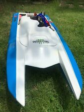 Catamaran Rc GAS Boat FiberGlass With Zenoah G 320 PUMP Engine Racing