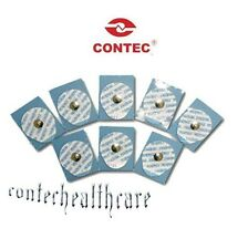 100cs Disposable Conductive Electrode Pads ECG EKG Resting Gel Foam Tab,contec