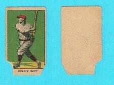 RARE AUTHENTIC 1920 W520 GOLDIE RAPP STRIP CARD