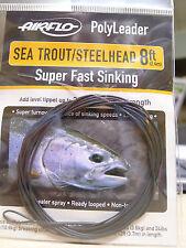 AIRFLO Polyleader SEA TROUT/ STEELHEAD 8ft / 2,40 Mtr. SUPER FAST SINKING