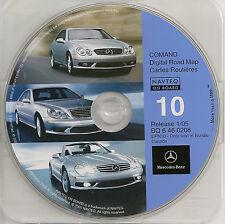 2001 2002 2003 S600 S500 S430 S55 CL600 CL500 CL55 Navigation CD #10 Canada Map