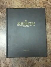 ZENITH THE COLLECTION WRISTWATCH BOOK CATALOG