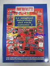 rivista TUTTIFRUTTI (ALLEGATO) 96/1990 Simple Minds Cure Vasco Rossi Bowie No cd