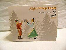 New Dept 56 Alpine Village Series Prost! 6003051 steins beer hall cheers man