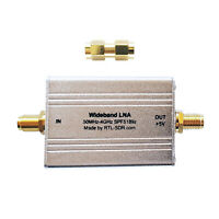 RTL-SDR Blog Wideband LNA (Bias Tee Powered)