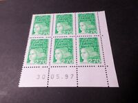 FRANCE 1997, timbre 3091, COIN DATE, MARIANNE LUQUET, neuf**, VF MNH STAMPS
