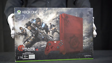 Xbox ONE S Console 2TB Gears of War 4 Limited Edition Red NEW - 'The Masked Man'