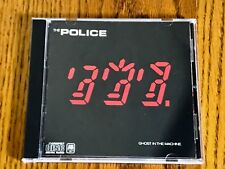 THE POLICE GHOST IN THE MACHINE ORIGINAL CD ~ 1981