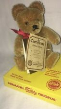 "HERMANN Teddy Original 169147""No-No-Baer"" Nostalgie-Teddy mit Funktion Limitiert"