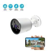 Smart Camera security Wifi Outdoor 1080p waterproof 2-way audio cloud storage
