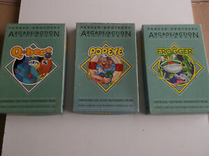 ti994a 'Parker Brothers' 3 top Games Popeye/Frogger/Q-Bert all fully tested