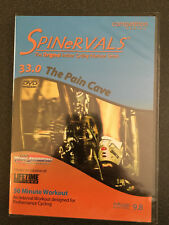 New & Sealed! SPINeRVALS 33.0 The Pain Cave 50 minutes Troy Jacobson  WW Ship