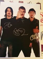 Silverchair signed photo 2007