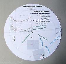 Linn Basik LV-V/LV-X/LV-X-Plus/Akito I&II Stylus Alignment Protractor