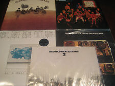 BLOOD SWEAT & TEARS S/T & CHILD IS FATHER TO MAN + HITS + 3&4 + Analog 5 LP 'SET